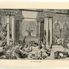 Life in Modern Persia, 108 year old original antique print