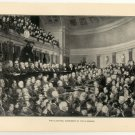 The Electoral Commission of 1876 in Session, U.S., 108 year old original antique print