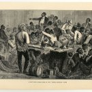 "A Southern Legislature in the ""Carpet-Bagger"" Days, U.S., 108 year old original antique print"