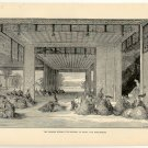 The Daimios Urging the Shogun to Expel the Foreigners, 108 year old original antique print