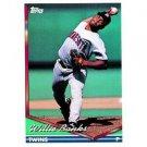 1994 Topps #14 Willie Banks