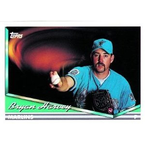 1994 Topps #20 Bryan Harvey