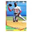 1994 Topps #54 Mark Whiten