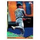 1994 Topps #74 Scott Brosius