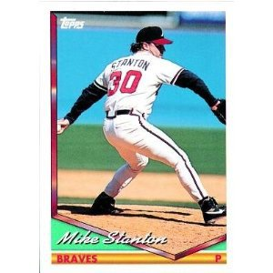 1994 Topps #107 Mike Stanton