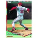 1994 Topps #142 Curt Schilling