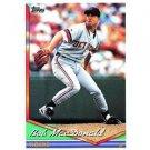 1994 Topps #162 Bob MacDonald