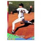 1994 Topps #321 John Dopson