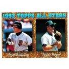 1994 Topps #386 Matt Williams, Wade Boggs AS