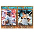 1994 Topps #391 Mike Piazza, Mike Stanley AS