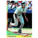 1994 Topps #406 Jose Oquendo