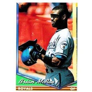 1994 Topps #425 Brian McRae