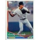 1994 Topps #461 Randy Velarde