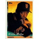 1994 Topps #574 Willie McGee