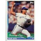 1994 Topps #582 Danny Cox