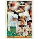 1994 Topps #586 Brent Gates