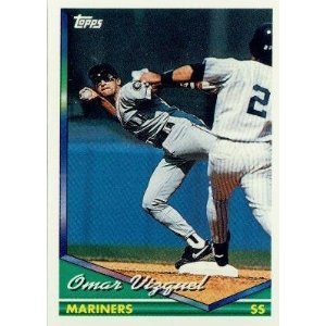 1994 Topps #593 Omar Vizquel