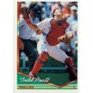 1994 Topps #597 Todd Pratt