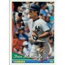 1994 Topps #600 Don Mattingly