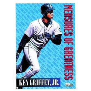 1994 Topps #606 Ken Griffey Jr. Measures of Greatness