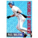 1994 Topps #609 Paul Molitor Measures of Greatness