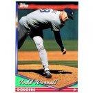 1994 Topps #611 Todd Worrell