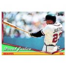 1994 Topps #630 David Justice