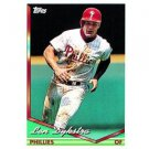 1994 Topps #635 Lenny Dykstra