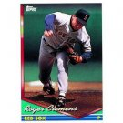 1994 Topps #720 Roger Clemens