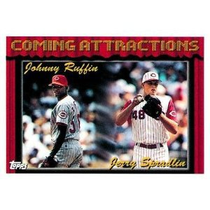 1994 Topps #779 Johnny Ruffin, Jerry Spradlin