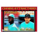 1994 Topps #781 Carl Everett, David Weathers