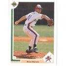 1991 Upper Deck #12 Brian Barnes