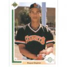 1991 Upper Deck #61 Royce Clayton