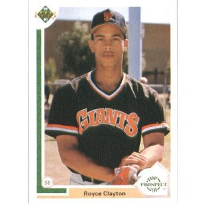 1991 Upper Deck #61 Royce Clayton
