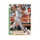 1991 Upper Deck #165 Mike Greenwell