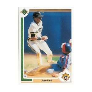 1991 Upper Deck #258 Jose Lind