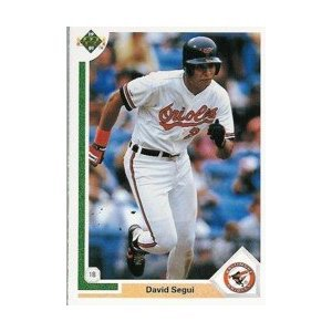 1991 Upper Deck #342 David Segui