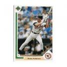 1991 Upper Deck #349 Brady Anderson