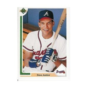 1991 Upper Deck #363 Dave Justice
