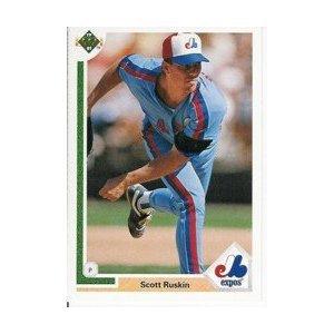 1991 Upper Deck #383 Scott Ruskin