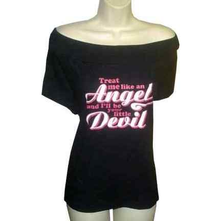 Treat Me Like An Angel and I'll Be Your Little Devil 3X