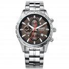 JIUSKO Men's Speedmaster Series Stainless Steel Bracelet Watch - 62LS07