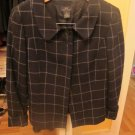 brooks brothers classic suit blazer plaid navy/grey reg $298.00