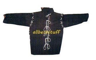 Chain Mail Padded Gambeson Arming Double Black