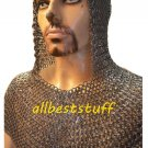 Chain Mail Coif Round Rivet with Flat Washer Heavy Coif 8mm