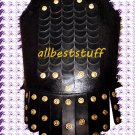 Medieval Leather Breastplate Armor Body Muscle Armor Black Armor Chestplate