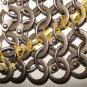 Chain Mail Shirt Round Rivet with Flat Ring Medium Shirt Medieval Militaria Eras