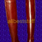 Medieval Leather Boots Knee Length