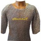 MS Chain Mail Chainmail Shirt Flat Rivet with Flat Washer - Zinc LL