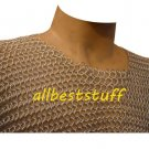 Butted Chain Mail Aluminium Shirt with Silver Anodizing Small
